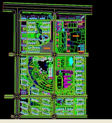 住宅小区规划 大型住宅小区规划 住宅小区规划设计 住宅小区规划平面