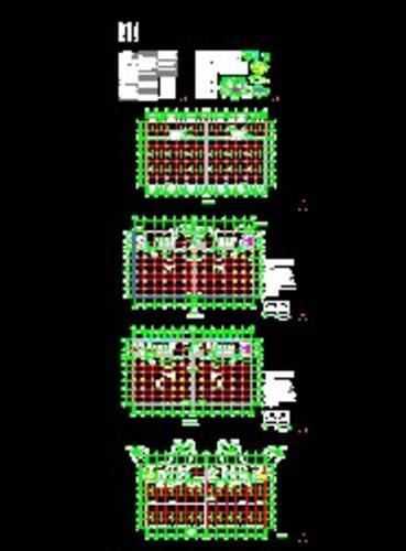 高层冷库全套建筑施工图