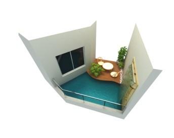 顺德设计 入户花园玄关设计 入户花园水池设计 入户花园装修设计 欧式