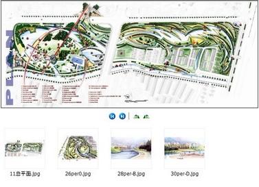 图纸 建筑图纸 上海锦绣华城公园手绘  上传时间:2012-01-05 所属分类