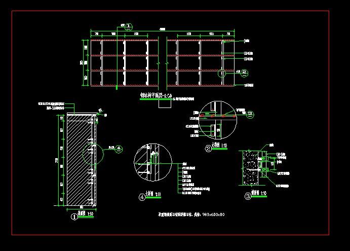 图纸 园林设计图 景墙干挂做法  上传时间:2012-01-09 所属分类:园林