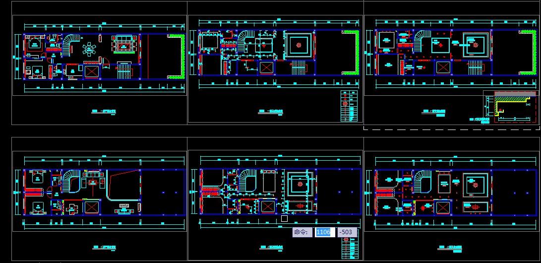 复式家装平面图_cad图纸下载-土木在线