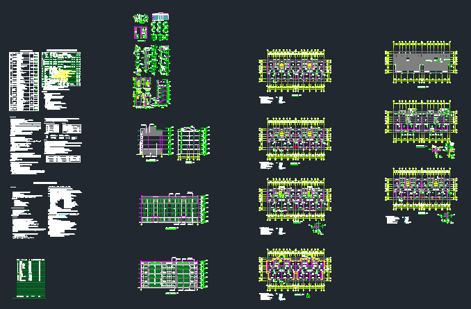 全套5层住宅楼建筑施工图(含节能设计)