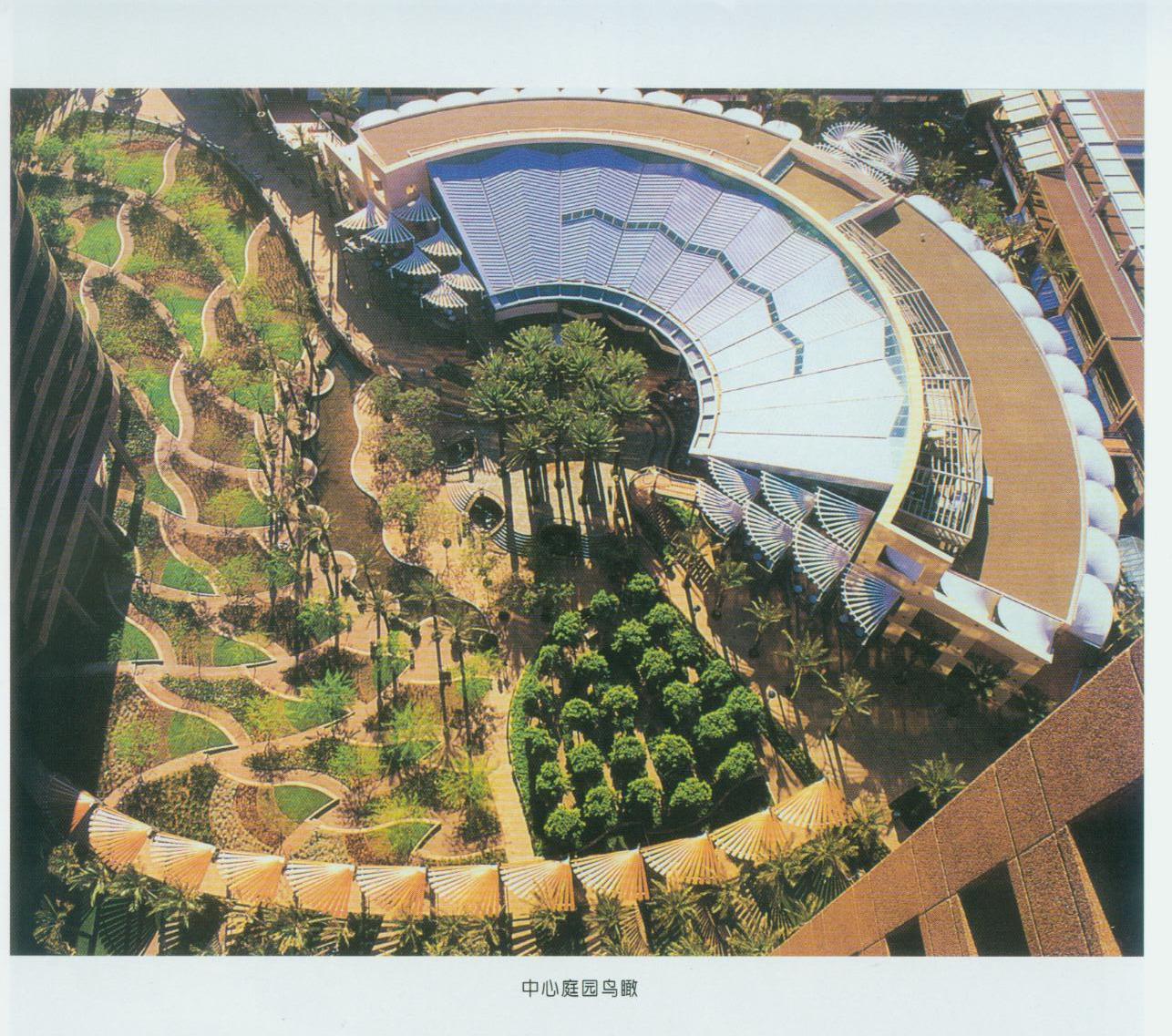 休闲林荫广场设计