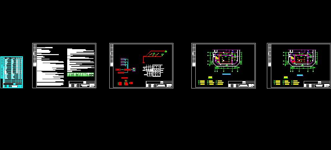 某变电站七氟丙烷灭火系统设计图纸 相关专题:变电站设计箱式变电站图片