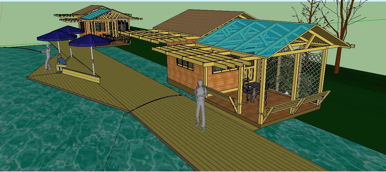 木屋   相关专题:亲水平台设计