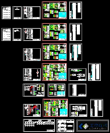智能变电站10kv开关柜电气二次接线图