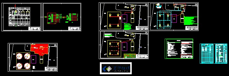 空气,天然气,氮氢气联合压缩机基础图 石油天然气管道线路施工用截水图片