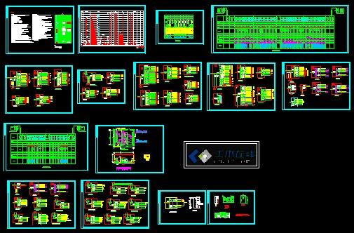 图纸 电气图纸  商业建筑(商业建筑电气图纸)  宾馆酒店建筑电气设计