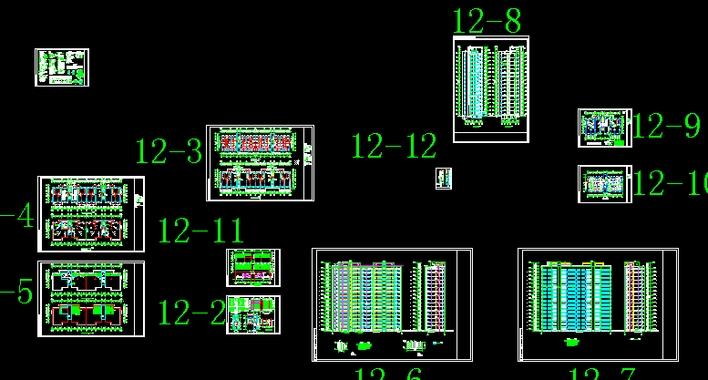 一梯两户十六层住宅,户型简洁实用,希望大家有用!