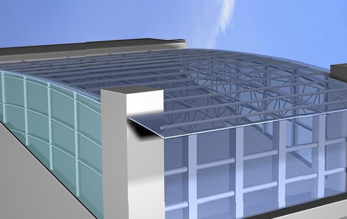 楼顶雨棚效果图(4个)图片