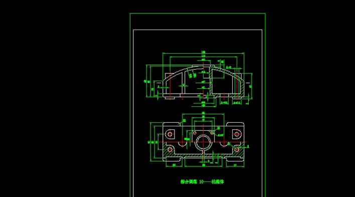 机电CAD道路模型cad图纸下载图片