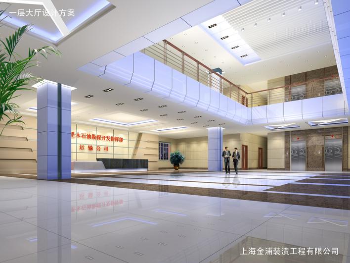 结构施工图(含建筑设计) 医院大厅入口效果图 大堂大厅展览展示效果