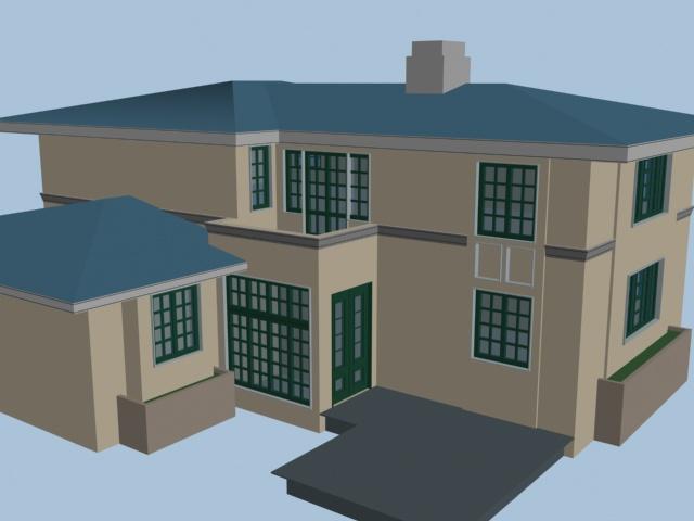 收藏3dmax图纸-图例别墅经典相关图纸小区造型数控车图片