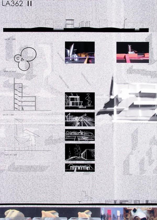 建筑规划学生排版设计——毕设