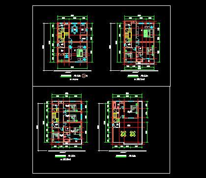普通農村建房設計圖