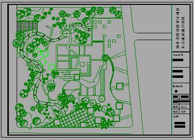 某校植物配置设计图