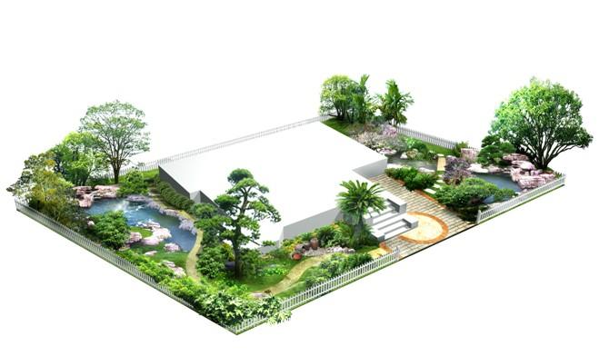 庭院大门效果图 平房庭院设计效果图 庭院围墙大门效果图 联排别墅图片