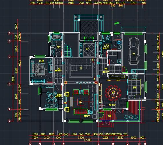 整套欧式别墅设计装修图高清图片