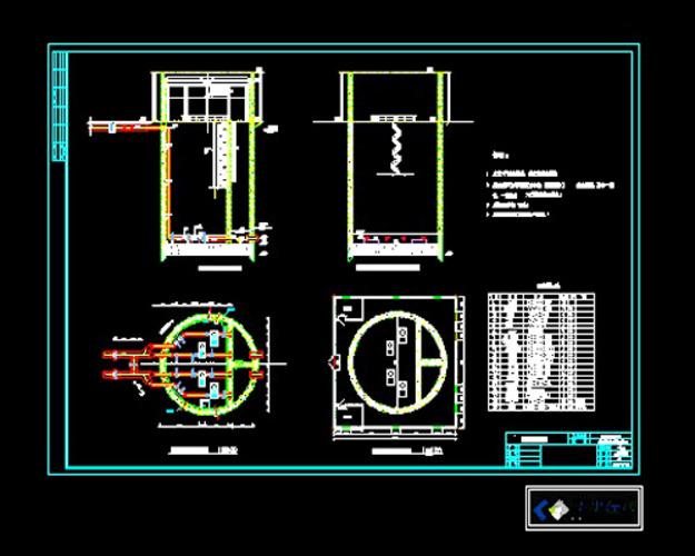 给水泵站设计_给水泵站设计平面图_给水泵站设计平面图分享展示