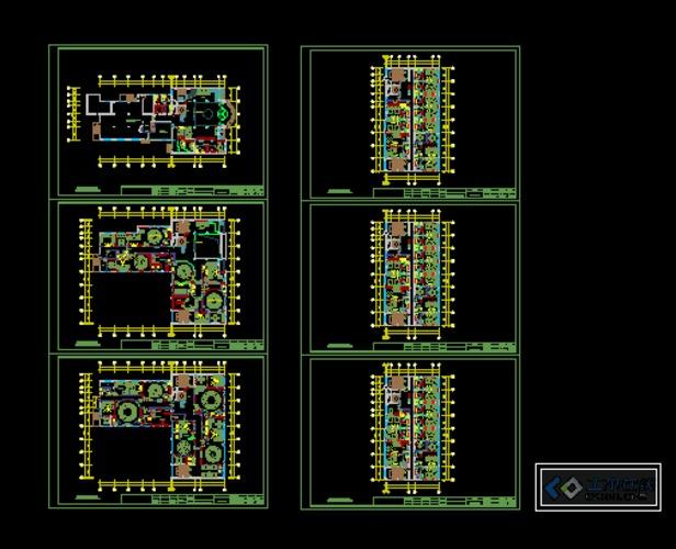 国防楼-森林汉府精品酒店平面方案