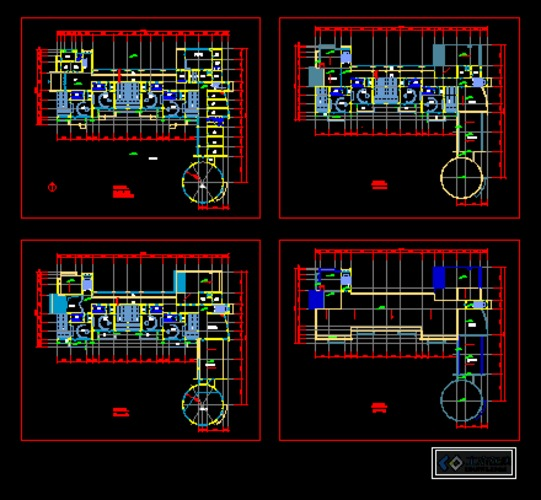 六班幼儿园平面设计图展示