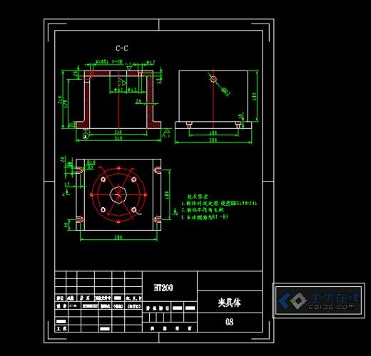 cad标准图框(含a1a2a3a4标准尺寸图框)