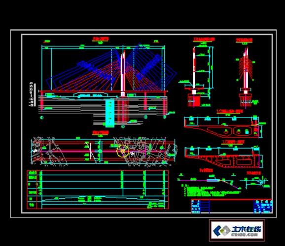 某桥梁建筑施工电器_co土木在线图纸下载