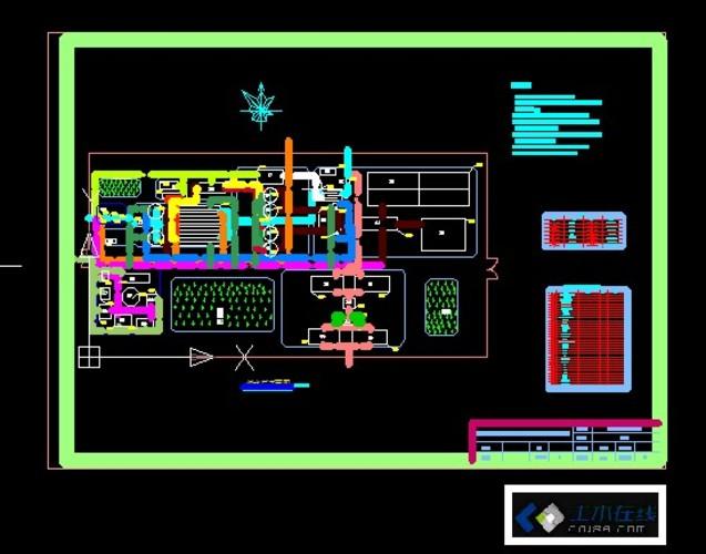 污水处理厂设计平面图