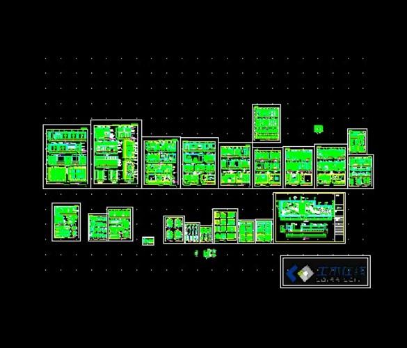 某北美风独栋双层别墅室内装修图(含效果) 海淀区某三层别墅奢华欧式