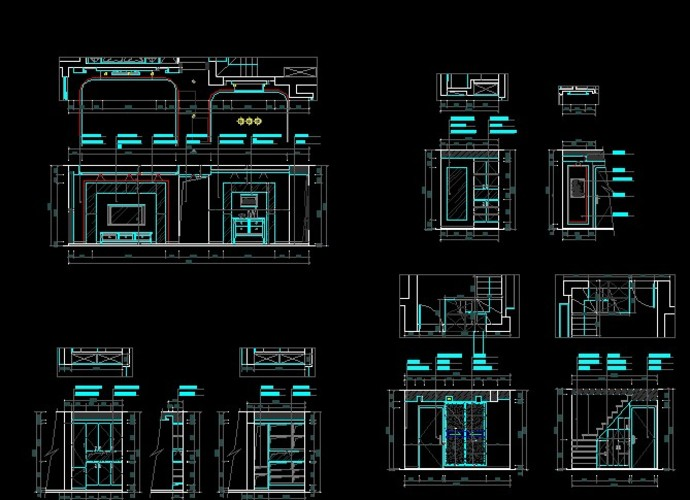 家装电路布线视频展示_设计图分享