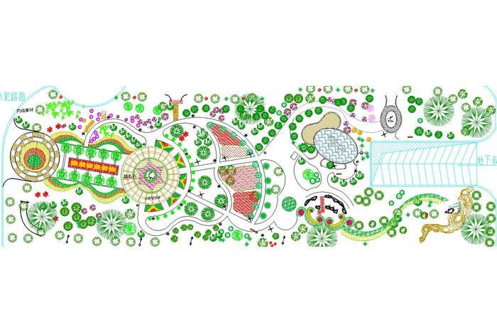 双威花园小区平面图