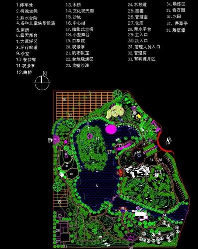快题设计公园景观设计景观公园设计别墅绿化景观设计