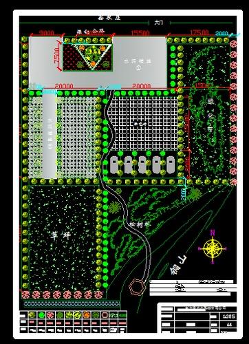生态停车场平面设计图