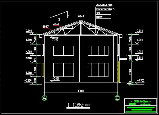 四坡图纸钢结构图纸屋面知识产权v图纸图片