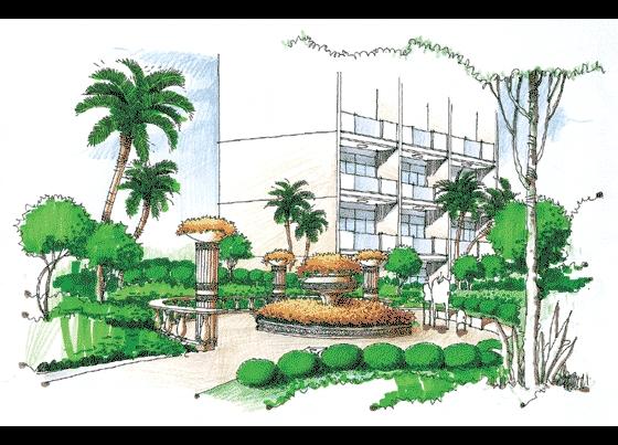 相关专题:小区设计手绘图 景观小品手绘图 园林景观小品手绘图 公园