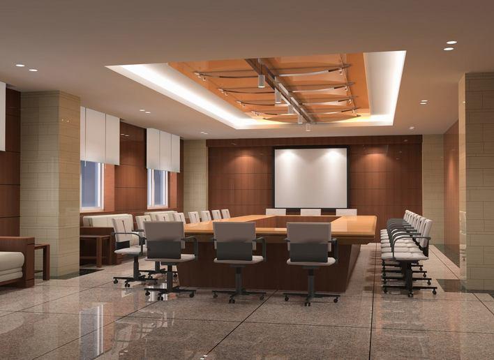 山东济南某局办公楼室内装修图纸