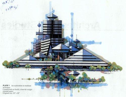 建筑手绘效果图(7)--经典~!