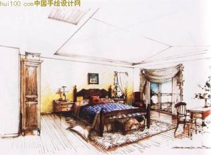 建筑室内手绘效果图(3)--经典~!