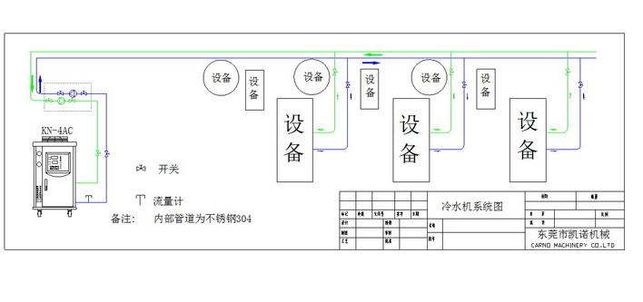 冷却水系统原理图