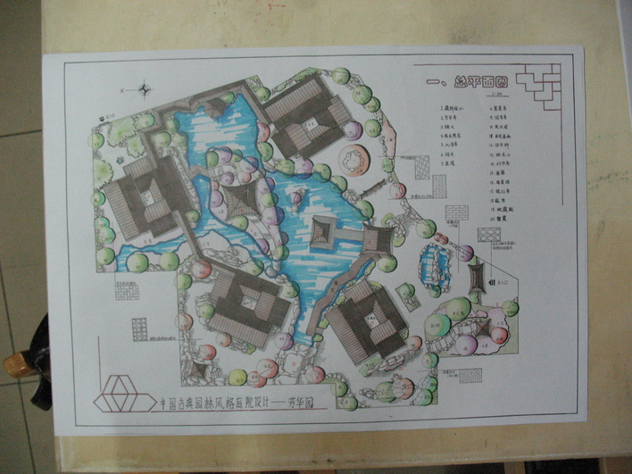 古典园林快题设计 古典园林设计 古典园林平面图 古典园林设计cad