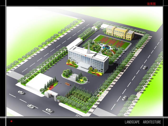 园林及建筑小区规划效果图制作风暴12 花园别墅全套室内装饰施工图77