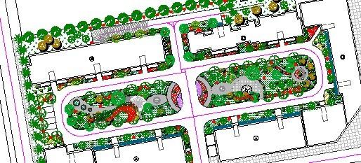 某小区绿化景观设计