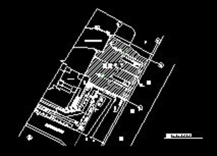 消防施工总平面布置图 消防总平面布置图 消防通道平面布置图图片