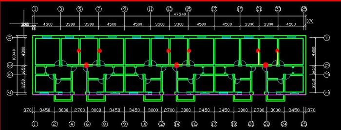 建筑,电气施工图,结构图纸) 工程图纸样式餐厅 青岛市海尔路辽阳路