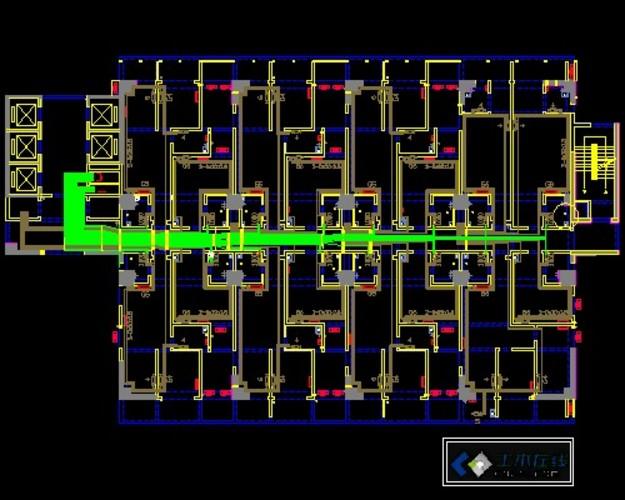 PVC-U 排水管件CAD尺寸图_CO土木在线(原网