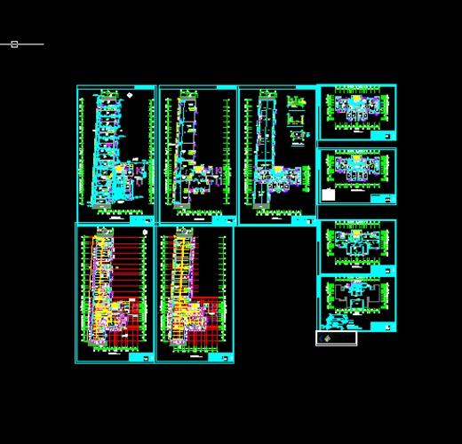 建筑给排水设计图纸