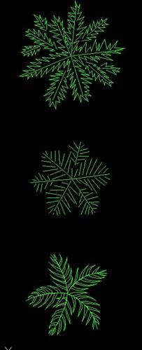 cad竹子平面图图例