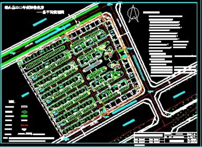 钢结构屋顶大殿山门建筑施工图 江西省赣州市兴国县新农村建设规划图