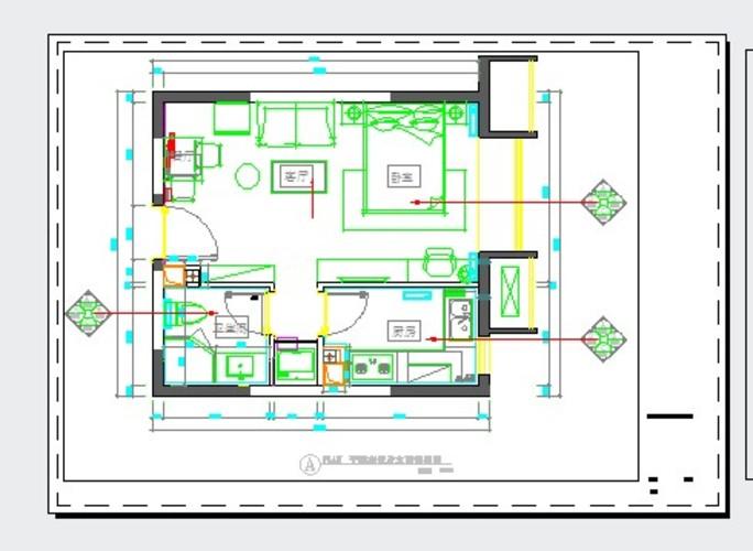 厨房平面布置图 土拨鼠装修网